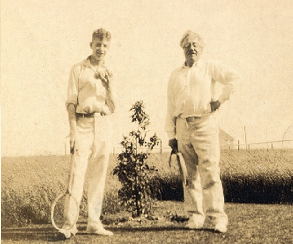Britten and Frank Bridge, 1930