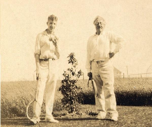 Britten and Frank Bridge, 1930