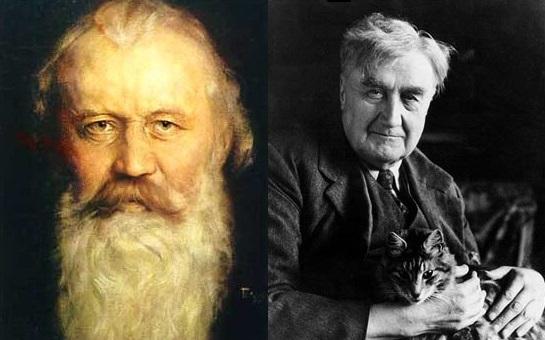 Johannes Brahms and Ralph Vaughan Williams