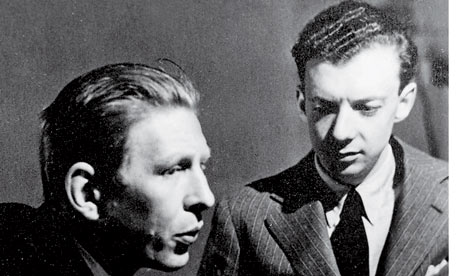 Britten And Auden Late 1930s Photograph Courtesy Of The Pears Foundation Funeral Blues Song