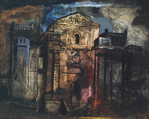 Seaton Delaval 1941 by John Piper 1903-1992
