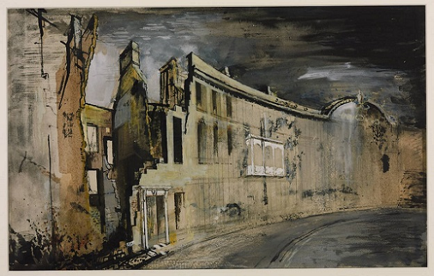 Somerset Place, Bath 1942 by John Piper 1903-1992